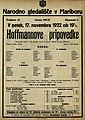 Plakat za predstavo Hoffmannove pripovedke v Narodnem gledališču v Mariboru 17. novembra 1922.jpg