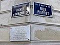 Plaques avenue Madrid rue Pierret Neuilly Seine 2.jpg