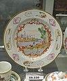 Plate in the Meissen Hausmaler style, China, c. 1740, hard paste porcelain, overglaze enamels, gilt, HD 59.220 - Flynt Center of Early New England Life - Deerfield, Massachusetts - DSC04815.jpg