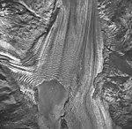 Plateau Glacier, tidewater glacier terminus, September 17, 1966 (GLACIERS 5782).jpg
