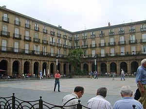 Casco Viejo - Image: Plaza nueva de Bilbao
