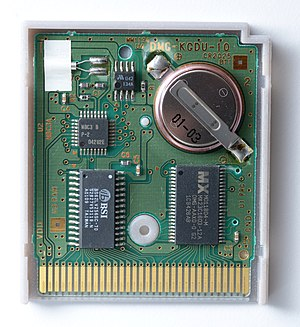 Read-only memory - Many game consoles use interchangeable ROM cartridges, allowing for one system to play multiple games.