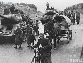 First Polish Army (1944–1945) - The Polish First Army on their way to Berlin, 1945