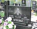 Poltava Central Cementary European Str. 154 Grave of V.S.Ageeva (DSCF4521).jpg