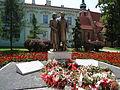 Pomnik Lecha i Marii Kaczyńskich w Radomiu.JPG