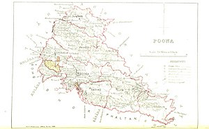 Pune - The then Poona district 1896