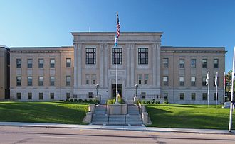 Pope County, Minnesota - Image: Pope County Courthouse