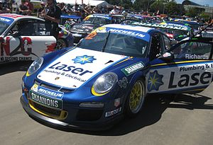 Steven Richards - Richards placed fourth in the 2013 Australian Carrera Cup Championship