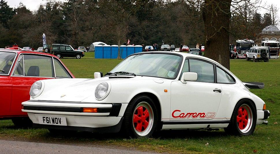 Porsche Carrera CS registered August 1988 3164cc