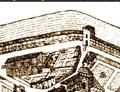 Porte del Trauc (Castres, 1674).png
