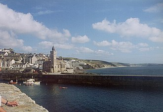 William Bickford-Smith - Porthleven; the Bickford-Smith Institute, with its imposing 70 ft clock tower, was built in 1883 as a literary institute by William Bickford-Smith of Trevarno