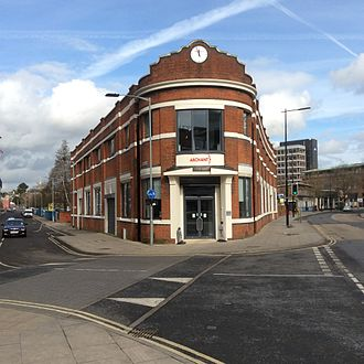 East Anglian Daily Times - The 'Archant' office in Princes Street, Ipswich home of the East Anglian Daily Times
