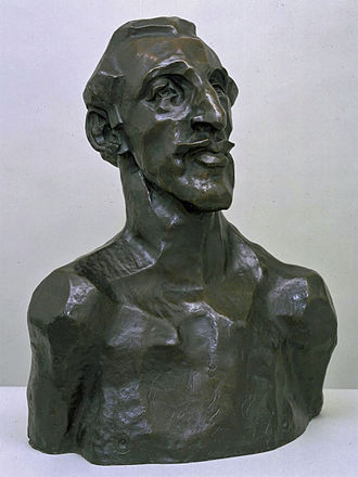 Horace Brodzky - Portrait bust of Horace Brodzky by Henri Gaudier-Brzeska, 1913 (Tate Gallery)