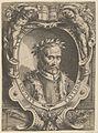 Portrait of Pietro Angela da Barga, bust-length and in a decorative border MET DP836927.jpg