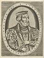 Portret van Ferdinand I van Habsburg, Duits keizer Portretten van heersers (serietitel), RP-P-1881-A-4786.jpg