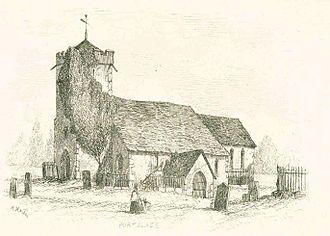Portslade - St Nicolas's in 1851