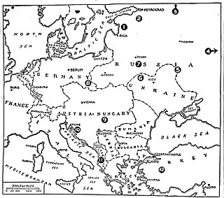 Period between the end of World War I and the beginning of World War II