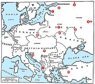 Interwar period Period between the end of World War I and the beginning of World War II