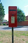 Post box on Oldfield Road, Heswall.jpg