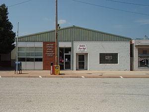 Cunningham, Kansas - U.S. Post Office (2009)
