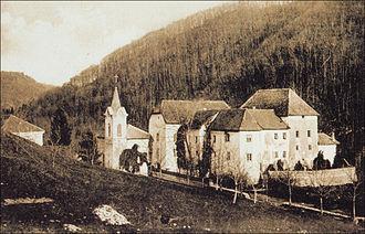 Medija Castle - Medija Castle in the early 20th century