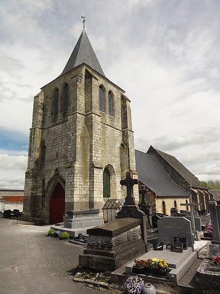 Pouilly-sur-Serre (Aisne) église