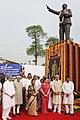 Pratibha Devisingh Patil, the Vice President, Shri Mohd. Hamid Ansari, the Prime Minister, Dr. Manmohan Singh, the Chairperson, National Advisory Council, Smt. Sonia Gandhi, the Union Ministers, the Chairman.jpg