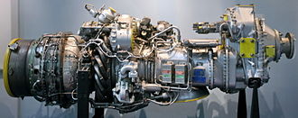 ATR 72 - A Pratt & Whitney Canada PW100 series engine