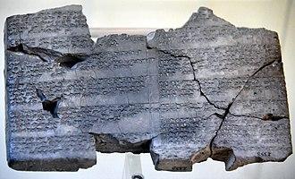 Arnuwanda I - Image: Prayers of Arnuwanda and Asmu Nikkal, 14th century BC, from Hattusa, Istanbul Archaeological Museum