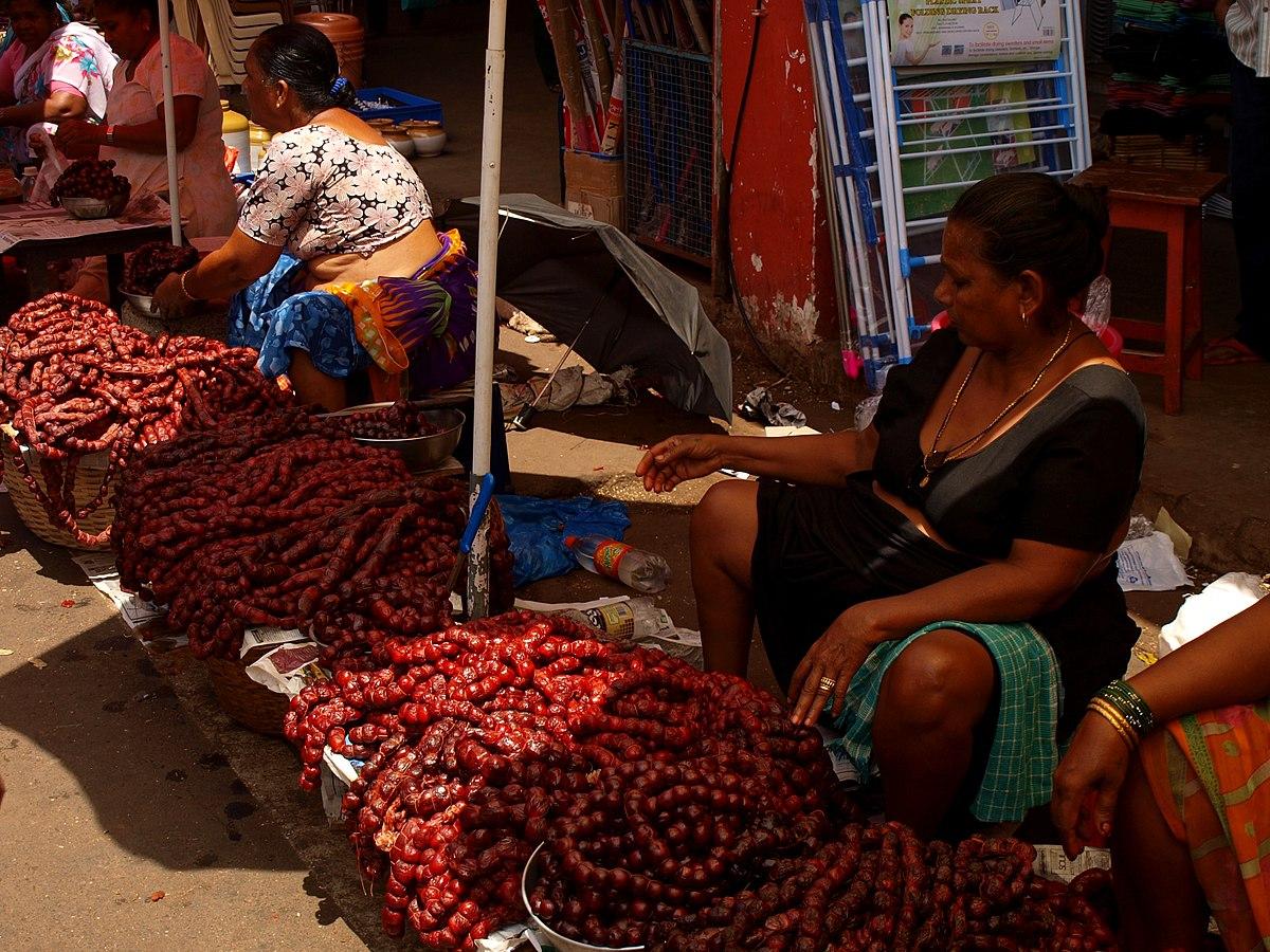 Goan sausage - Wikipedia
