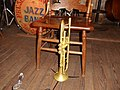 Preservation Hall - Trumpet and Chair.jpg