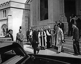 Phil Graham - Graham's funeral was attended by President John F. Kennedy