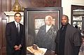 President Obama, Chaz Guest, Painting Thurgood Marshall.jpg