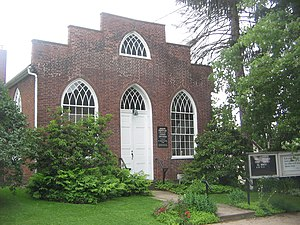 Northumberland Historic District - Priestley Memorial Church is a contributing property in the district