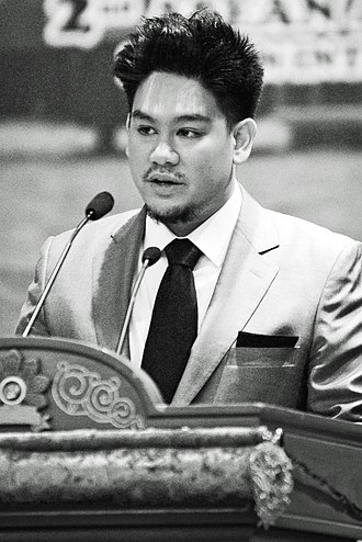 Prince Azim of Brunei - Prince Azim at the 2nd ASEAN Autism Network Congress in April 2013