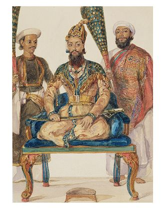 William Carpenter (painter) - Prince Fakhr-ud Din Mirza