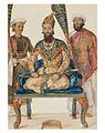 Prince Fakhr-ud Din Mirza, eldest son of Bahadur Shah II, 1856.jpg