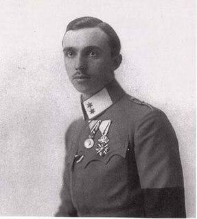 Prince René of Bourbon-Parma seventh surviving son of Robert I, Duke of Parma