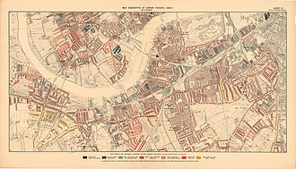 Chelsea Harbour - 1898 map showing Fulham Gas Works