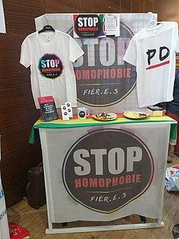 Printemps des assoces 2019 - stop homophobie