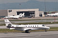 Private Cessna 560XL Citation XLS N643QS San Francisco International Airport.jpg