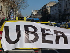 Illegal taxicab operation - Uber