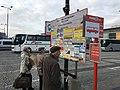 Przystanek autobusowy na placu Defilad w Warszawie 2.jpg