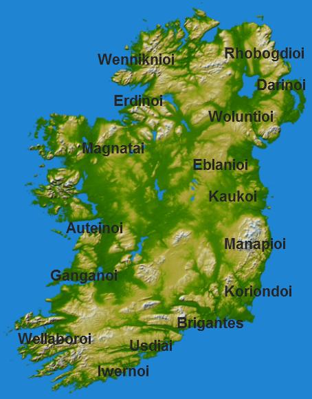 Ptolemy's Ireland