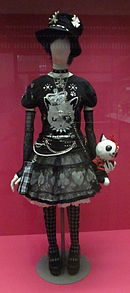 punk lolita on display at the victoria and albert museum