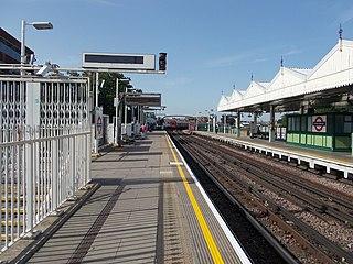 Putney Bridge tube station London Underground station