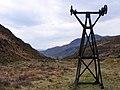 Pylon for aerial cableway, Cwm Bychan - geograph.org.uk - 1381993.jpg