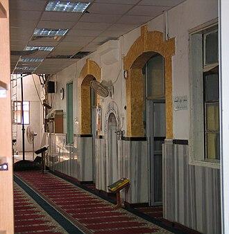 Qalansawe - Mosque built on Crusader ruins
