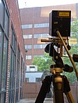 Qinetiq free-space QKD system in the DARPA Quantum Network - March 2005.jpg