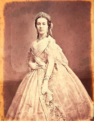 Marie Henriette of Austria - Image: Queen Marie Henriette of The Belgians, née Archduchess of Austria (1836 1902)